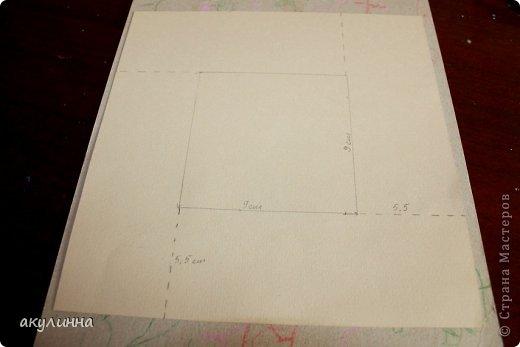 Подарочная коробочка, захотелось сделать  минимум деталей.  Основа  очень плотный картон, обклееный бумагой для эскизов, цветки с магазина. фото 13