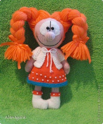 куколка Валентинка связана по описанию Елены (Jelena03)  фото 2