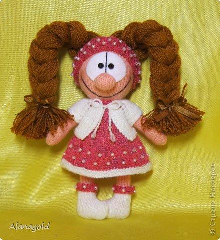 куколка Валентинка связана по описанию Елены (Jelena03)  фото 3