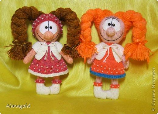 куколка Валентинка связана по описанию Елены (Jelena03)  фото 4