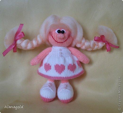 куколка Валентинка связана по описанию Елены (Jelena03)  фото 1