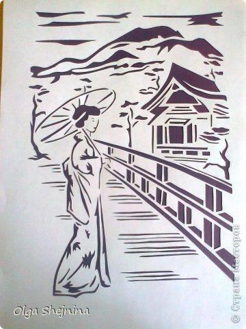 Картина панно рисунок Вырезание вырезалки-повторялки Бумага фото 5.