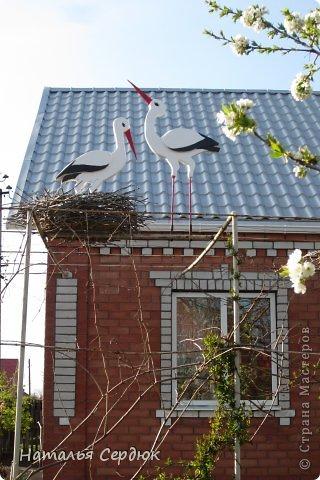 Аист на крышу своими руками