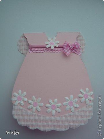 Спасибо мастерицам за схемы детских открыток, особенно понравилось делать туфельки и пинетки.... фото 3