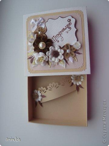 Я снова с коробочками, какие-то делала на заказ, какие-то по настроению и вдохновению и они еще ждут своего часа, спасибо всем заглянувшим на мою страничку......Надписи на коробочках - неповторимой Марины Абрамовой и штампики испробовала...... фото 8