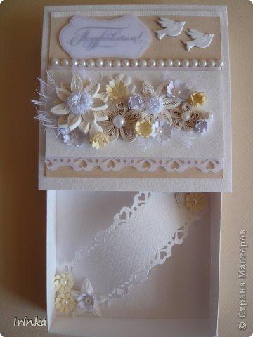 Я снова с коробочками, какие-то делала на заказ, какие-то по настроению и вдохновению и они еще ждут своего часа, спасибо всем заглянувшим на мою страничку......Надписи на коробочках - неповторимой Марины Абрамовой и штампики испробовала...... фото 13