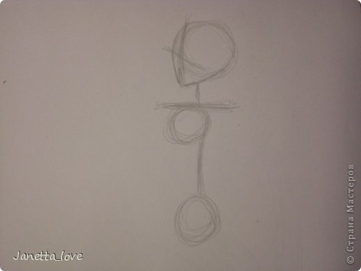 Здравствуйте этот мк посвящается тем у кого проблемы с рисованием людей. Этот способ подойдёт для девушек, которые не умеют рисовать. Этот мк является лёгкой версией для рисования людей. В данном мк не соблюдены пропорции. Способ подходит для схематичного отображения человека или простого баловства с листом бумаги и цветными карандашами) фото 5
