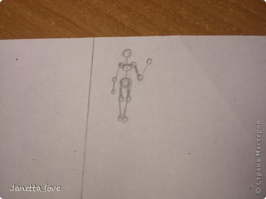 Здравствуйте этот мк посвящается тем у кого проблемы с рисованием людей. Этот способ подойдёт для девушек, которые не умеют рисовать. Этот мк является лёгкой версией для рисования людей. В данном мк не соблюдены пропорции. Способ подходит для схематичного отображения человека или простого баловства с листом бумаги и цветными карандашами) фото 17