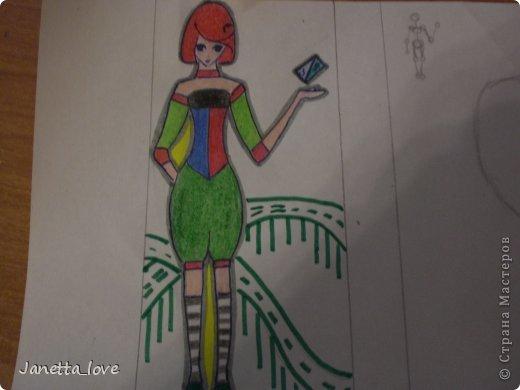 Здравствуйте этот мк посвящается тем у кого проблемы с рисованием людей. Этот способ подойдёт для девушек, которые не умеют рисовать. Этот мк является лёгкой версией для рисования людей. В данном мк не соблюдены пропорции. Способ подходит для схематичного отображения человека или простого баловства с листом бумаги и цветными карандашами) фото 27