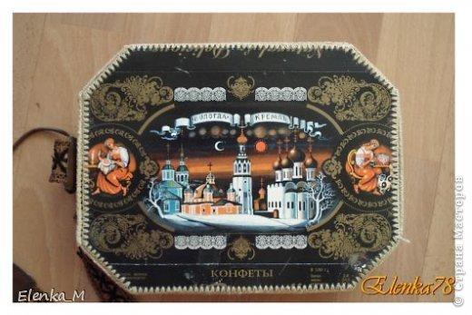 Доброго времени суток!))) По просьбе Мариеты показываю изготовление данной шкатулочки. Может кому и пригодится или в подарок, или для себя любимой фото 21
