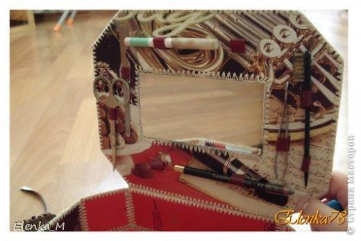 Доброго времени суток!))) По просьбе Мариеты показываю изготовление данной шкатулочки. Может кому и пригодится или в подарок, или для себя любимой фото 22