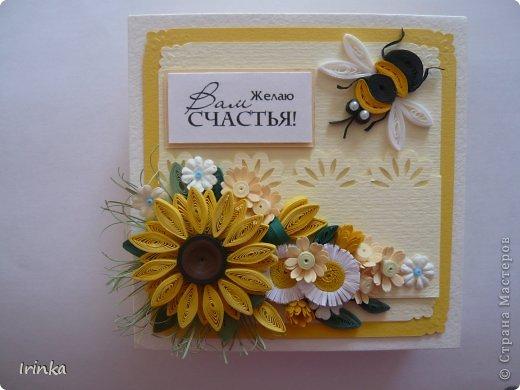 Коробочка, что-то меня на подсолнухи потянуло,  по-моему цветов многовато налепила......, а в целом коробочка понравилась.... фото 2