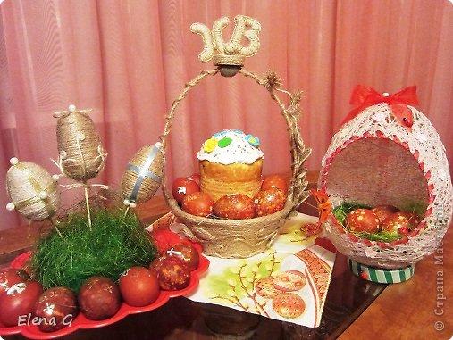 Всем добрый вечер и с наступающим праздником Пасхи! Моя пасхальная корзинка. фото 3