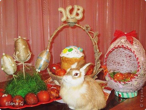 Всем добрый вечер и с наступающим праздником Пасхи! Моя пасхальная корзинка. фото 4