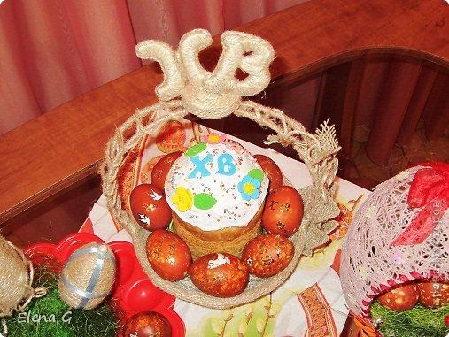Всем добрый вечер и с наступающим праздником Пасхи! Моя пасхальная корзинка. фото 5