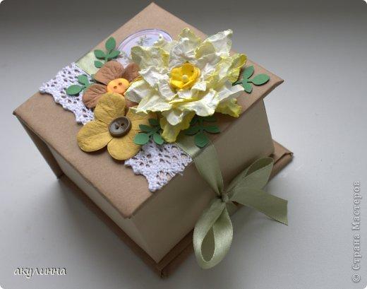 Коробочка подарочная фото 3