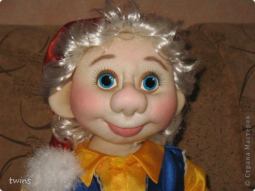Кукла гном своими руками