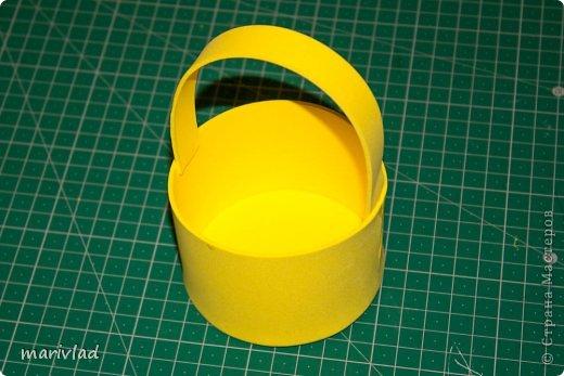 Мастер-класс Пасха Моделирование конструирование Пасхальная корзинка из фоамирана Фоамиран фом фото 3
