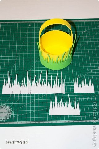 Мастер-класс Пасха Моделирование конструирование Пасхальная корзинка из фоамирана Фоамиран фом фото 4
