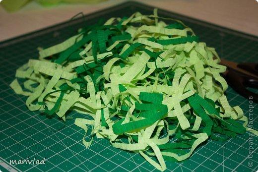 Купила я новый для себя материал под названием пенка. Здесь http://stranamasterov.ru/node/523567 в Стане Мастеров узнала, что он называется фоамиран. И решила сделать из него в подарок пасхальную корзинку.   фото 12