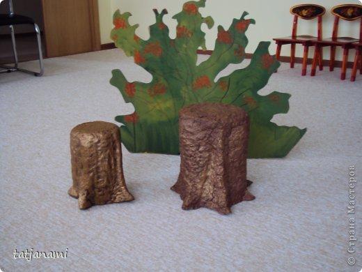 Декорация деревьев на сцене своими руками