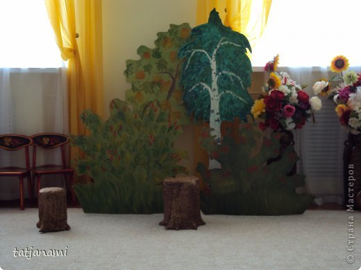 Декорация дерево как сделать