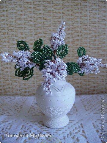 Поделка изделие Бисероплетение Цветы из бисера Бисер фото 9.