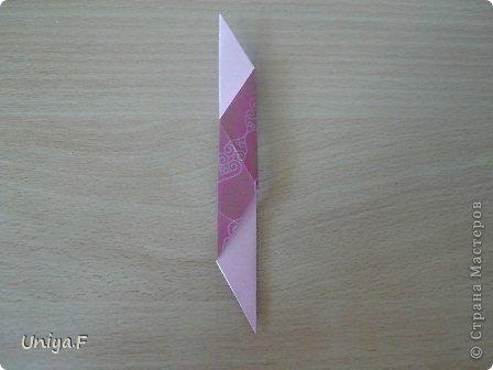 Кусудама Мастер-класс Оригами Khanuma Туториал  Бумага фото 9
