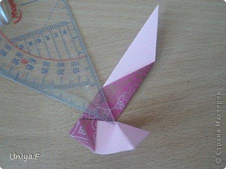 Кусудама Мастер-класс Оригами Khanuma Туториал  Бумага фото 12