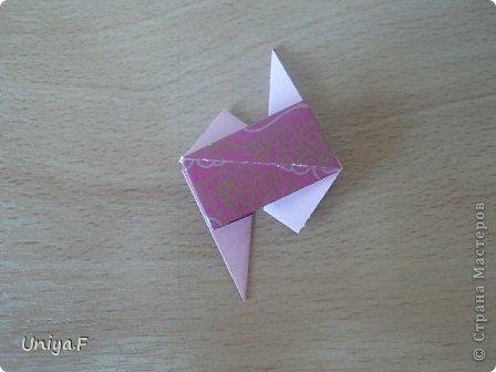 Кусудама Мастер-класс Оригами Khanuma Туториал  Бумага фото 16