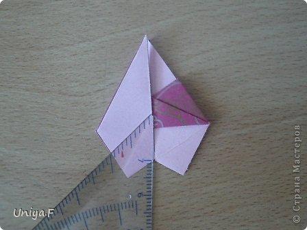 Кусудама Мастер-класс Оригами Khanuma Туториал  Бумага фото 17