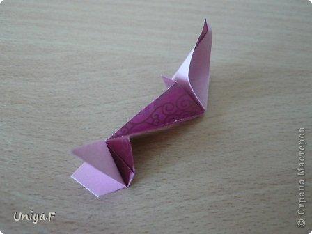 Кусудама Мастер-класс Оригами Khanuma Туториал  Бумага фото 19