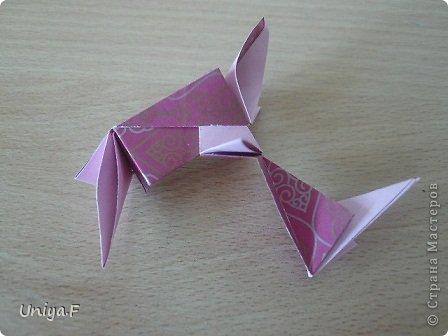 Кусудама Мастер-класс Оригами Khanuma Туториал  Бумага фото 20