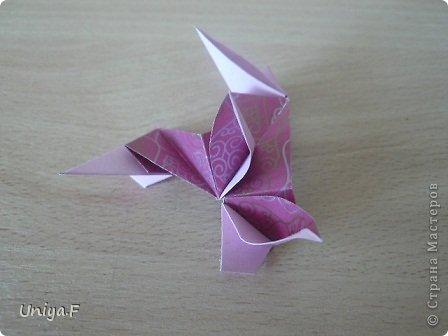 Кусудама Мастер-класс Оригами Khanuma Туториал  Бумага фото 21