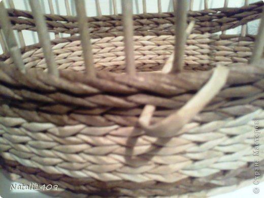 Мастер-класс Поделка изделие Декупаж Плетение Оригинальные загибочки Бумага газетная Салфетки Трубочки бумажные фото 16