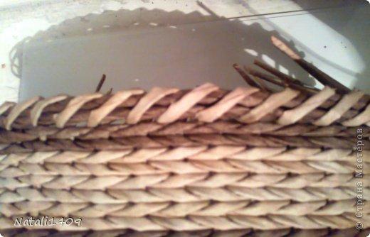 Мастер-класс Поделка изделие Декупаж Плетение Оригинальные загибочки Бумага газетная Салфетки Трубочки бумажные фото 17