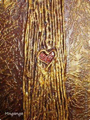 Картина панно рисунок Коллаж Звездолет Букет и Пуговичное дерево Материал бросовый Материал природный фото 18