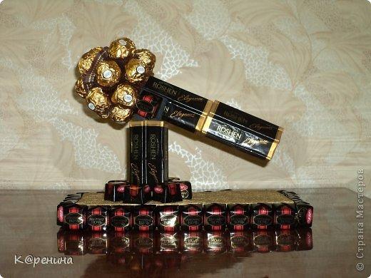 Инструменты из конфет своими руками