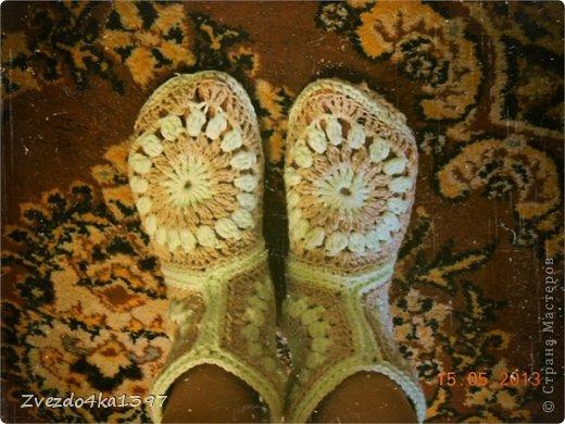 Юля в блоге мастер класс вязание носочков клубничка  #10