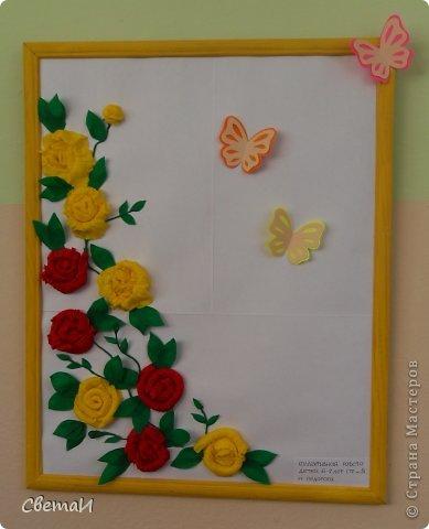 Цветы для открытки из гофрированной бумаги своими