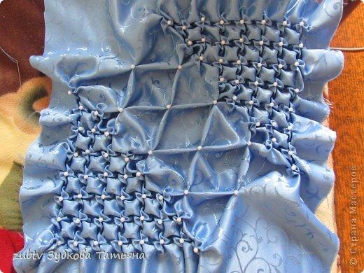 Мастер-класс Шитьё Подушка с бусинами Ткань фото 14