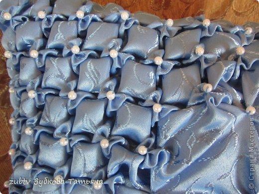 Мастер-класс Шитьё Подушка с бусинами Ткань фото 18