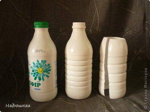 Поделки из бутылки от кефира