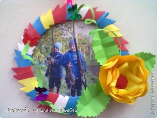 снова оригами-рамки Бумага