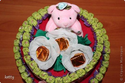Это моя вторая работа в свит-дизайне. Этот тортик подарок однокласснице дочки. фото 3