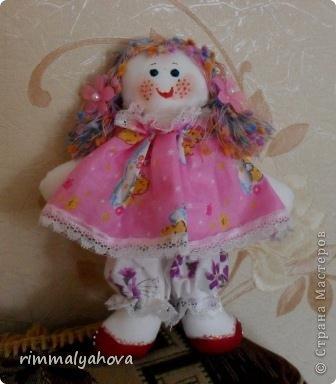 Игрушка Шитьё Тряпичная кукла Ткань фото 2