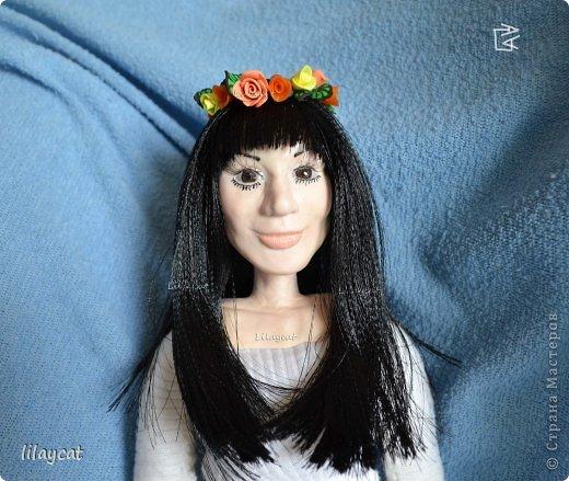 Кукла из глины своими руками