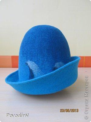 Мастер-класс Валяние фильцевание Банная шапка Шерсть фото 26