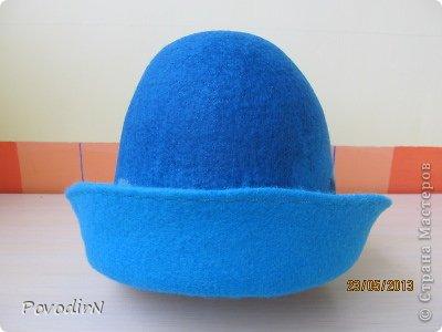 Мастер-класс Валяние фильцевание Банная шапка Шерсть фото 27