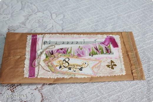 Скрапбукинг Упаковка Шоколадницы необычные фото 3.